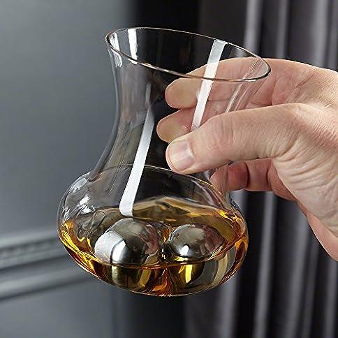 RumRoller - 51Nk5imB1LL - HomeWetBar RumRoller Chilling Glass Set