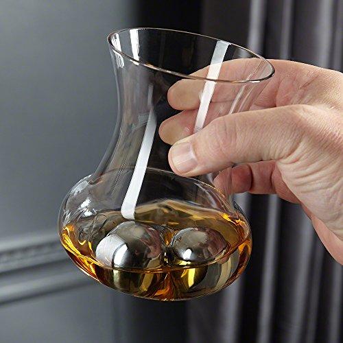 HomeWetBar RumRoller Chilling Glass Set ()