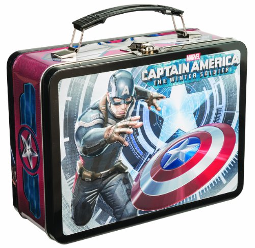Captain America Winter Soldier Tin Lunch Box
