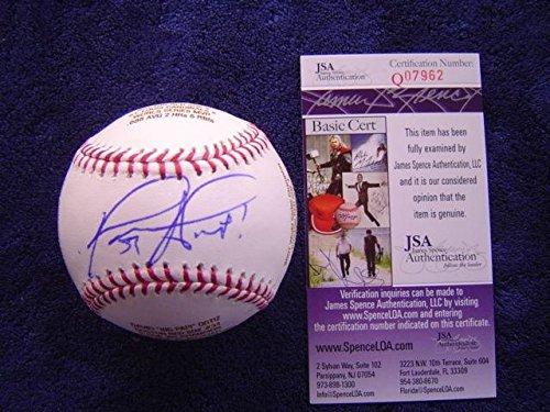 David Ortiz Signed Baseball - Engraved Official Major League 34 - JSA Certified - Autographed Baseballs