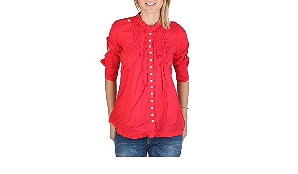 Alcott Camisa CF719DO C349 Rojo - Mujer - S: Amazon.es: Ropa y accesorios