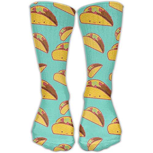 YUANSHAN Socks Taco I Don't Know Women & Men Socks Soccer Sock Sport Tube Stockings Length 11.8Inch -