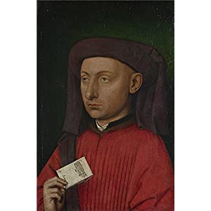 Oil Painting 'Follower Of Jan Van Eyck Marco Barbarigo ' Printing On Perfect Effect Canvas , 18 X 28 Inch / 46 X 70 Cm ,the Best Bar Artwork And Home Decor And Gifts Is This Imitations Art DecorativeCanvas Prints