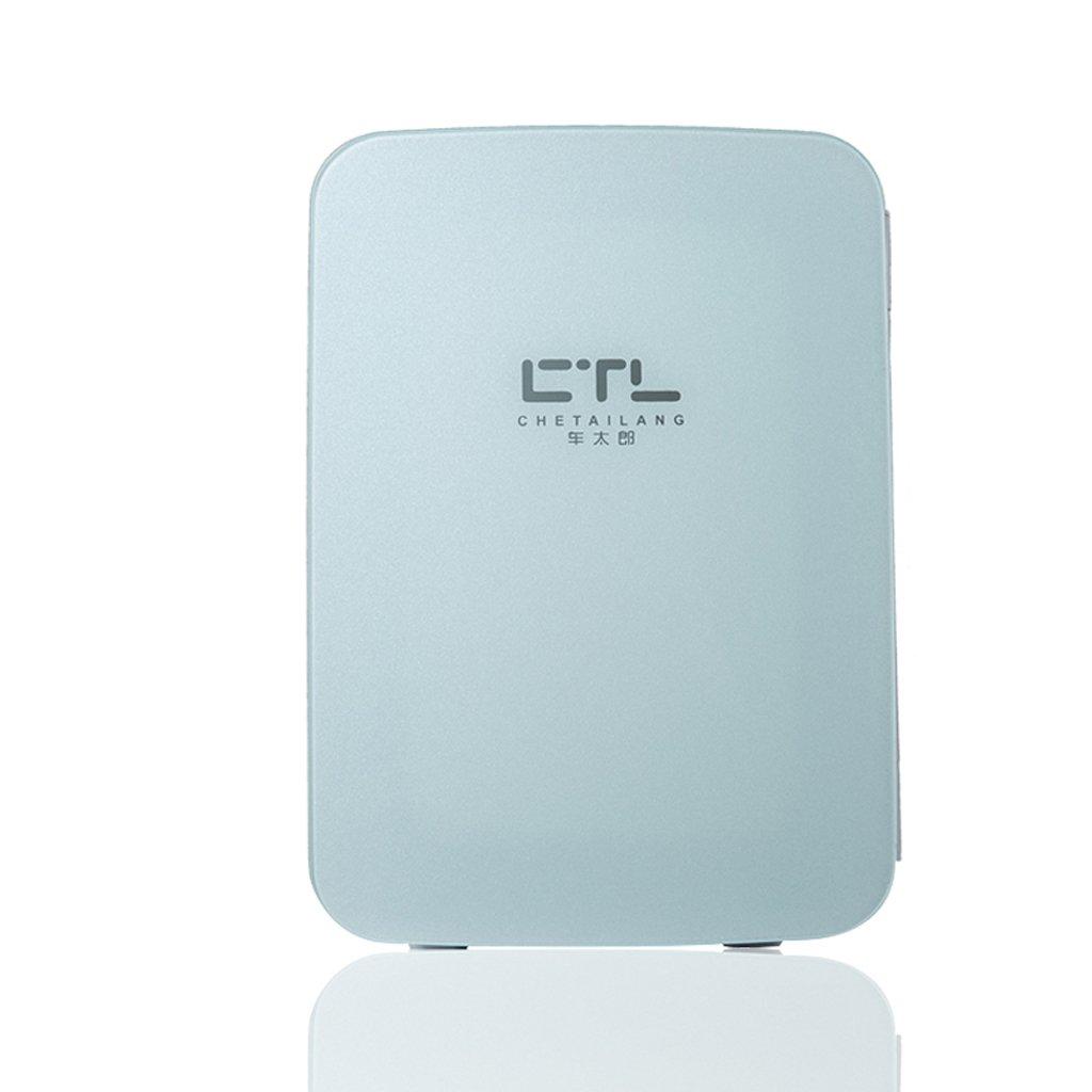 PeaceipUS Mini Fridge - 15L Compact Refrigerator Holds 22 x 330ml Cans | (Color : Blue)
