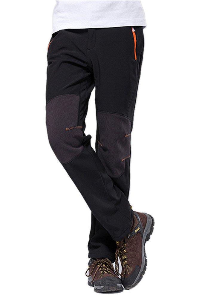 Geval Men's Outdoor Hiking Climbing Softshell Fleece Snow Pants HWB138mens