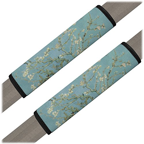 Apple Blossoms (Van Gogh) Seat Belt Covers (Set of 2) (Apple Car Seat Cover)