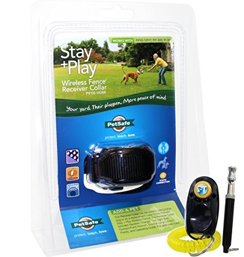 Wireless Fence Receiver (PetSafe Stay + Play Wireless Fence Receiver Collar)