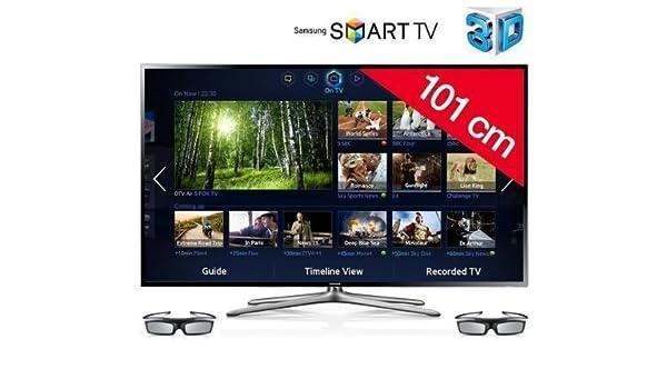 SAMSUNG Televisor LED 3D Smart TV UE40F6400 + Barra de sonido HW ...