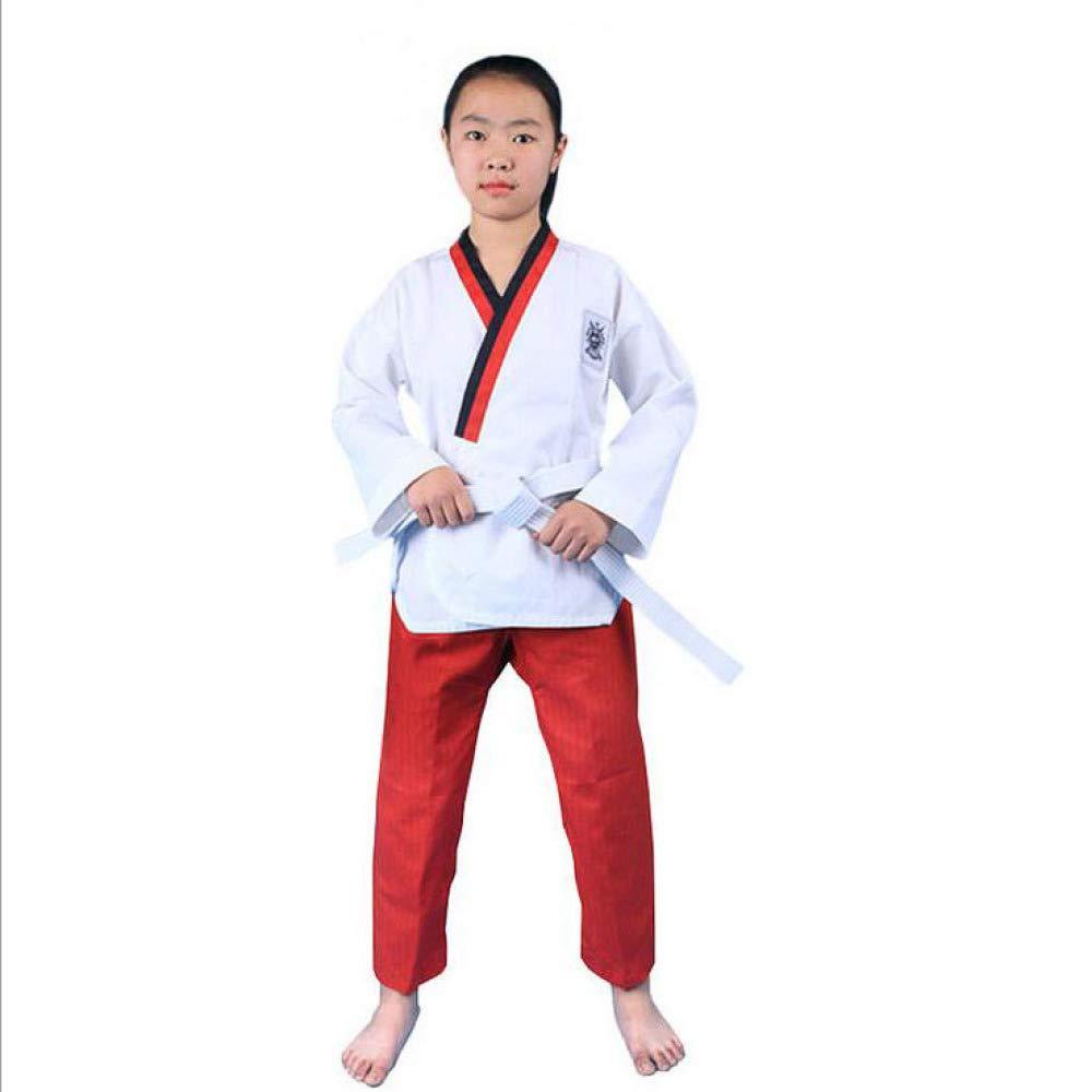 dududrz Dobok Taekwondo Donna V Collo Cómodo Suelto Judo Karate ...