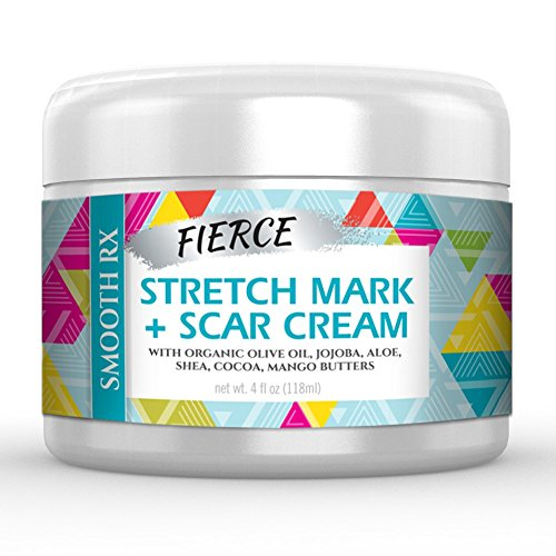 Best Scar Cream and Stretch Mark Removal Cream - Huge 4 Oz. - Breakthrough Treatment for Acne & Other Scars (Best To Get Rid Of Stretch Marks)