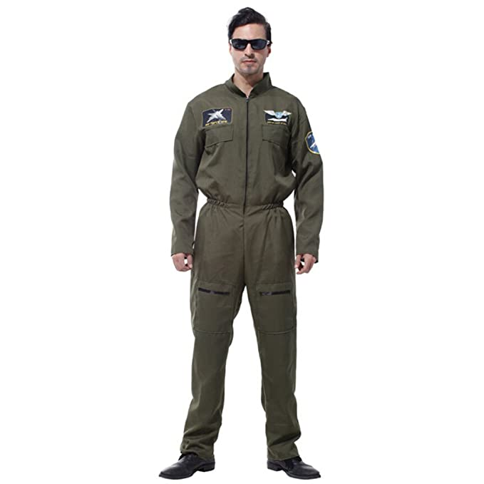 Amazon.com: Jili Online guapo Halloween disfraz de hombre ...