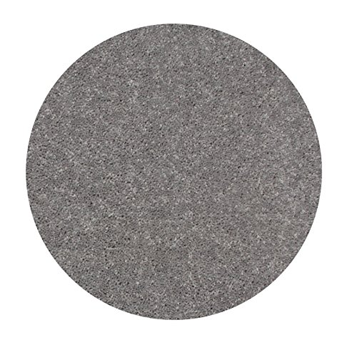 Bright House Solid Color Area Rug, 7' Round, Grey - Beige 7' Round Area Rug