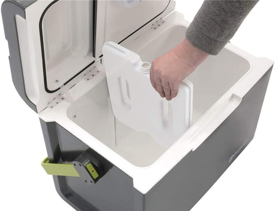 Outwell ECOcool 24L 12V//230V Electric Cooler Box Slate Grey