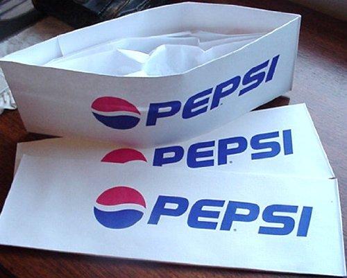Soda Jerk Costume (12 ~ Pepsi Cola Paper Soda Jerk Hats * Party Planner *)