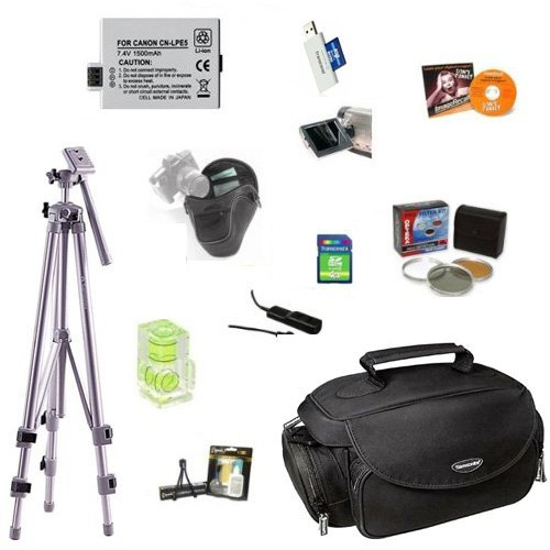 47st.Photo Professional 4GB Accessory Kit for the Canon EOS Digital Rebel XS & XSi SLR by 47st.Photo