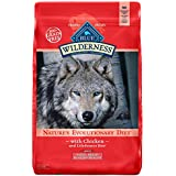 Blue Buffalo Wilderness High Protein Grain Free, Natural Adult Small Breed Healthy Weight Dry Dog Food, Chicken 11-lb