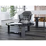 Manhattan Comforts 85052-MC Madison 1.0 Accent Side Coffee Table, Black Gloss Review
