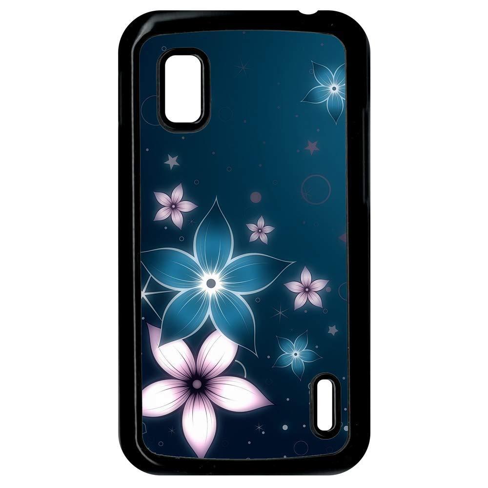 Carcasa Google Nexus 4 abstracto flor de Lotus: Amazon.es ...