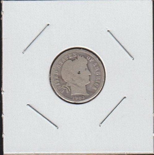 1903 O Barber or Liberty Head (1892-1916) Dime Good