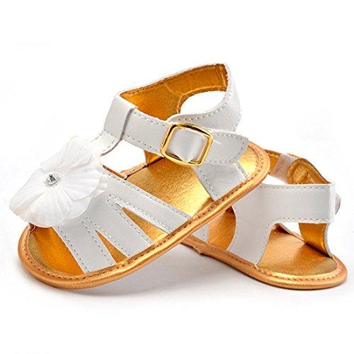 Belsen - Zapatos primeros pasos de Material Sintético para niña azul azul L