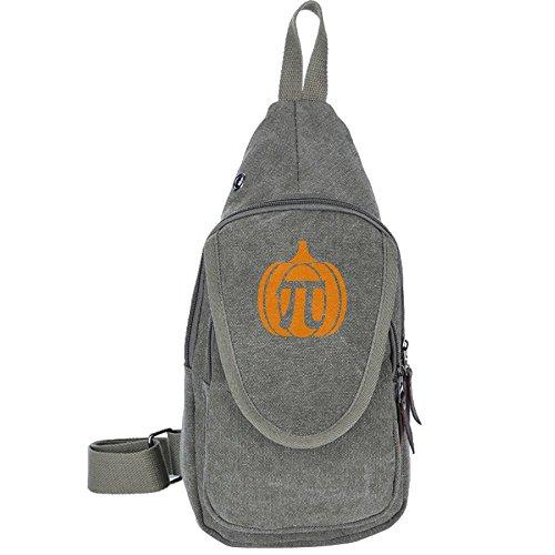 Backpack Chest Pack Bag Pumpkin Rucksack Hiking Shoulder Crossbody