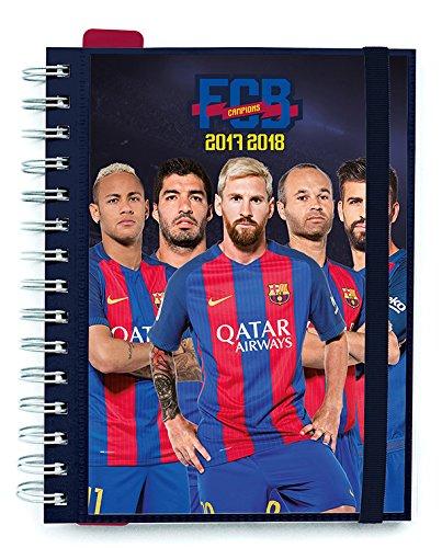 Grupo Erik Editores - Agenda Escolar 2017/2018 Semana Vista Fc Barcelona Jugadores