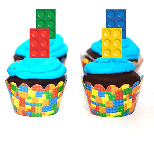 Lego Birthday Party Cake Topper