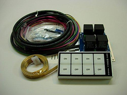 Auto-Rod Controls 4000D 4 Switch In-Dash Control Module by Auto-Rod Controls