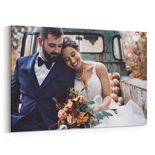 Personalized Photo to Canvas Print Wall Art 24x36 Inch (60cmx90cm) Custom Your Photo On Canvas Wall Art Digitally Printed (Best Cheap Canvas Prints)