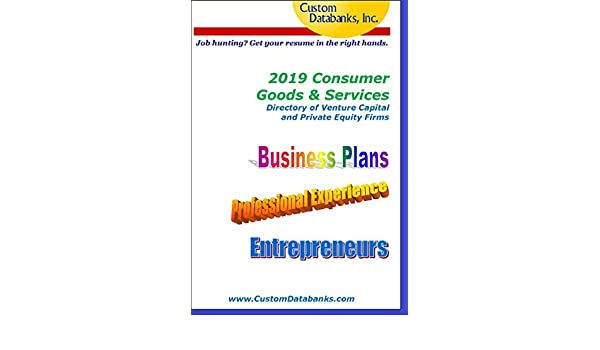 Amazon com: 2019 Consumer Goods & Services Directory of