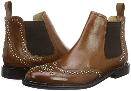 52e7c3c42de47 Melvin   Hamilton Women s Sally 45 Ankle Boots, Beige (Crust  Tan Rivets Ela.Dk.Brown New LS), 5 UK  Amazon.co.uk  Shoes   Bags