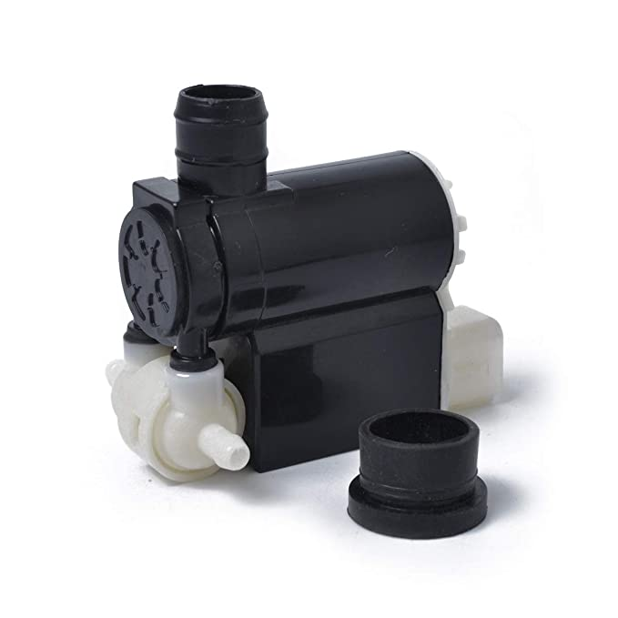 HERCHR 98510-2C100 Motor de Bomba de limpiaparabrisas Delantero/Trasero de Repuesto para Hyundai Kia Sedona/Sportage 98510-2L100 98510-2C100 98510-25100 ...