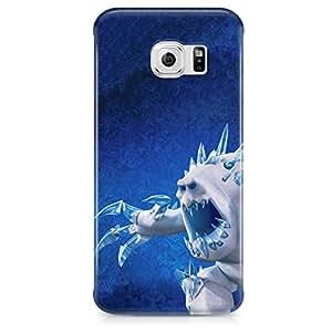 Congelados malvaviscos en forma de plástico duro Snap Case Cover for Samsung Galaxy S6EDGE