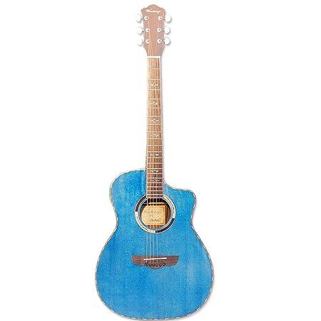 Kits de Guitarra acústica Regalo Rendimiento de Chapa de Madera de ...