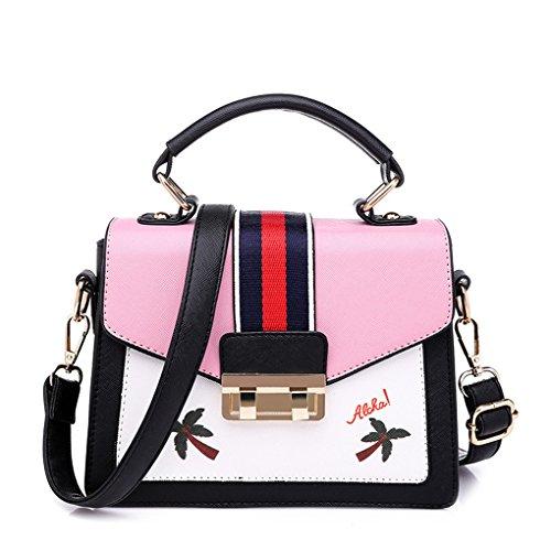 Bag De Casual Pink Shoulder Sra Single Bag Wild Bag Zpzp Shoulder De Single Simple Pink New Wild Bag Red Nueva Casual Color La Mrs Bag Fashion Color Bolsa Simple Zpzp Red Moda The xz1qqO