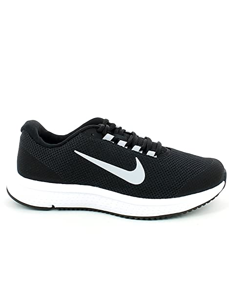 Nike Wmns Runallday, Zapatillas de Trail Running para Mujer, Negro (Black/White