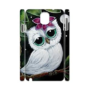 Owl Unique Design 3D Cover Case for Samsung Galaxy Note 3 N9000,custom cover case ygtg527962