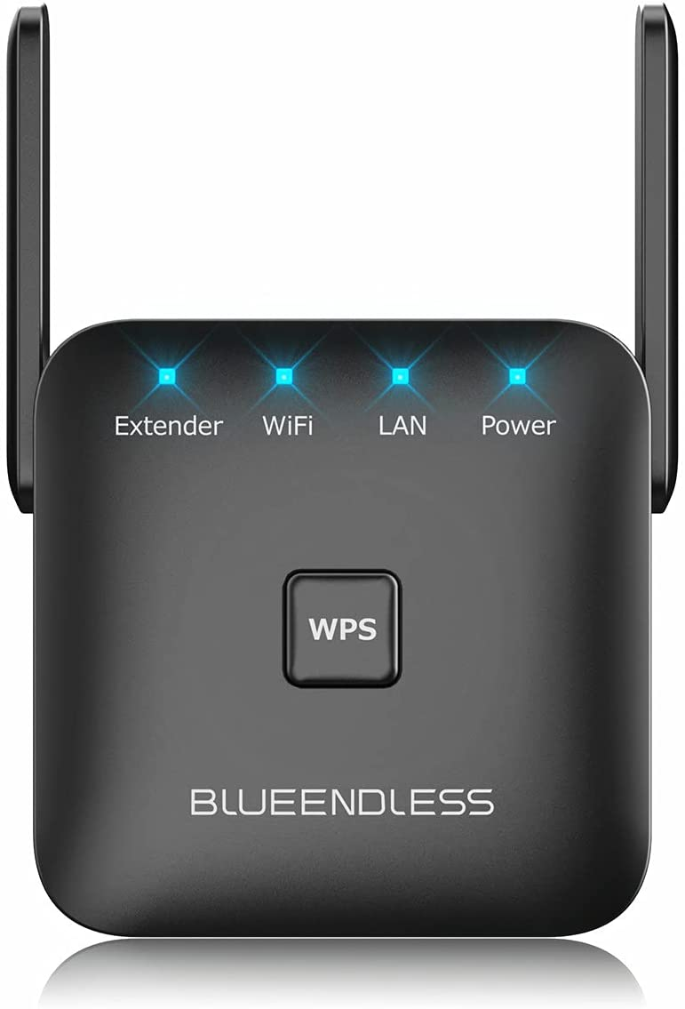 Blueendless WiFi Extender, WiFi Signal Booster WiFi Range Extender up to 300Mbps with Ethernet Port, WiFi Repeater to Extend WiFi Signal Coverage for Home Devices