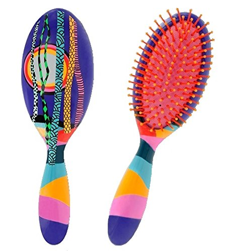 "Pylones Ladypop Hairbrush Large 8.5"" Forest"