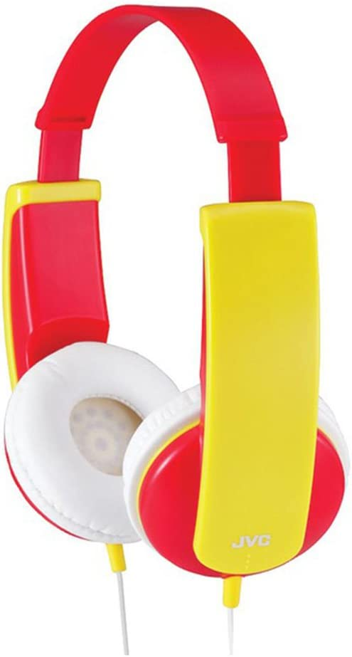 JVC HA-KD5-R-E Stereo hoofdtelefoon voor kinderen Rood