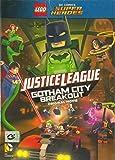 LEGO: JUSTICE LEAGUE: GOTHAM CITY BREAKOUT (DVD, Region 3) Cartoon Animation Kid family