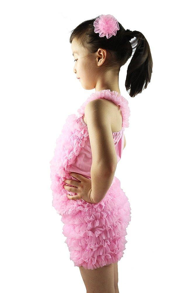 Wennikids Kids Baby Toddler Girls Chiffon Ruffles Shorts Short Pants 1-12Y