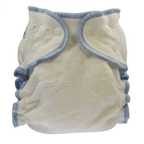 Blümchen Taille de la fleur adaptée culotte pelucheuse 1 pate coton organique S (3-7 kg)