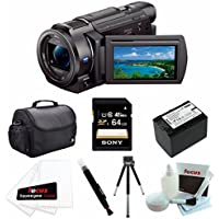 Sony FDR-AX33/B FDR-AX33B FDR-AX33 4K Camcorder with 64 GB BUNDLE