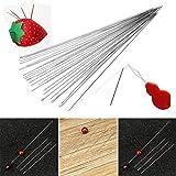 40 PCS Beading Needles, Seed Beads Needles Extra