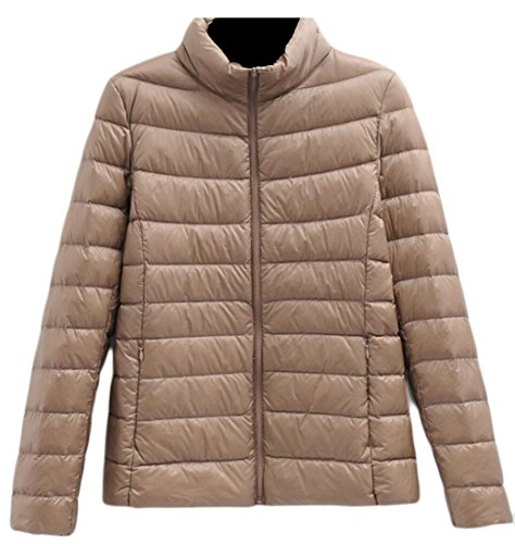 amp;W Down Stand M amp;S Collar 3 Jacket Women's Puffer Short Ultralight Packable Coats Warm 5Xx4waxZ