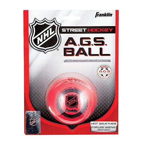 Franklin Streethockey Ball AGS Super High Density, rot, 12219