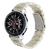 samsung galaxy gear 2 neo case - for Samsung Galaxy Watch 46mm / Gear S3 Bands, TRUMiRR 22mm Quick Release Resin Watch Band Stainless Steel Buckle Strap Wrist Bracelet for Gear S3 Classic/Frontier, Gear 2 Neo Live