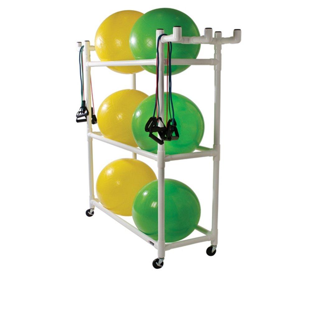 Stability Ball Storage - 67H x 67W x 19D Duracart 1257557