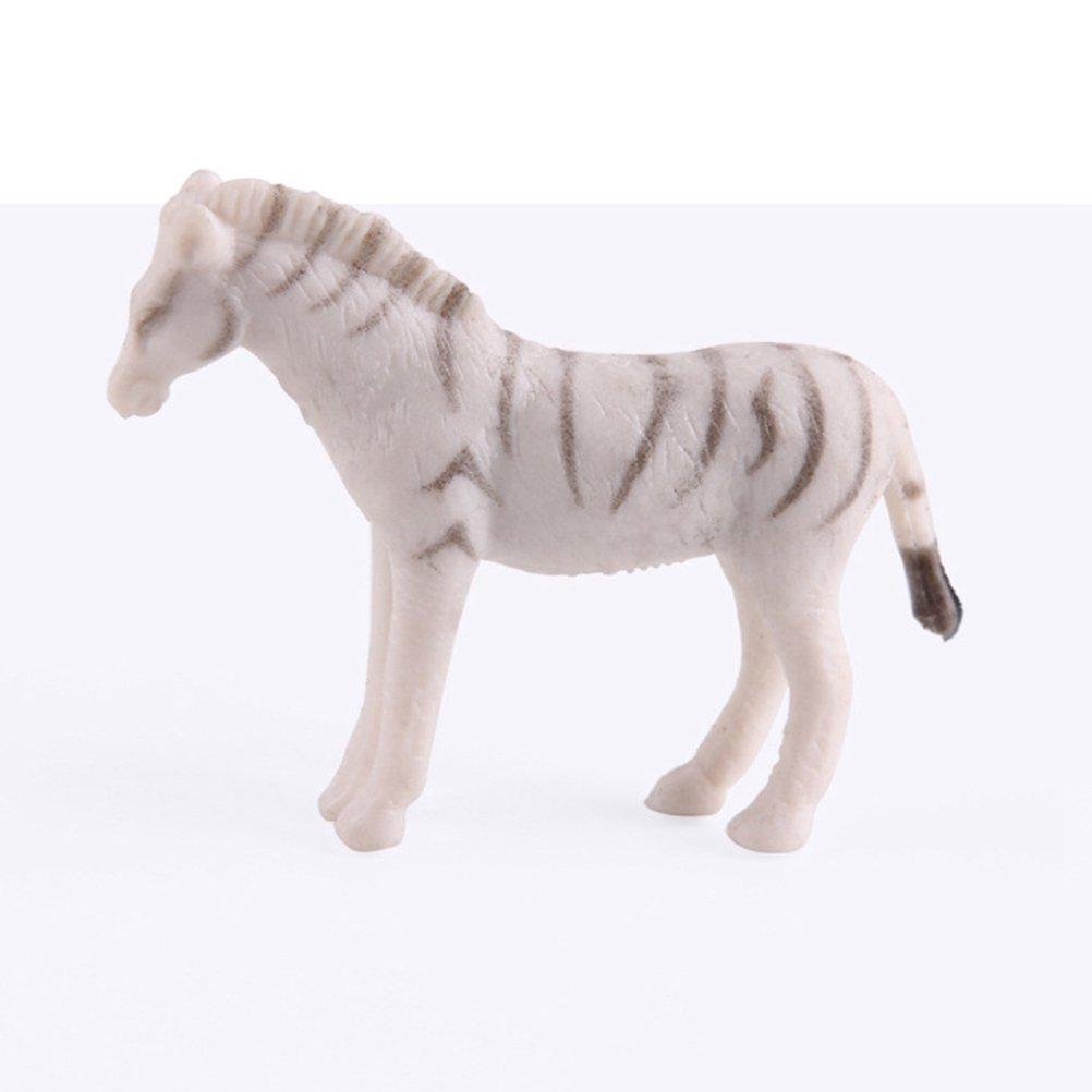 12 Pcs YeahiBaby Animal Sauvage Figure en Plastique Animaux R/éalistes Figure Jouet Premi/ère /Éducation Cognitive Jouets Assorties